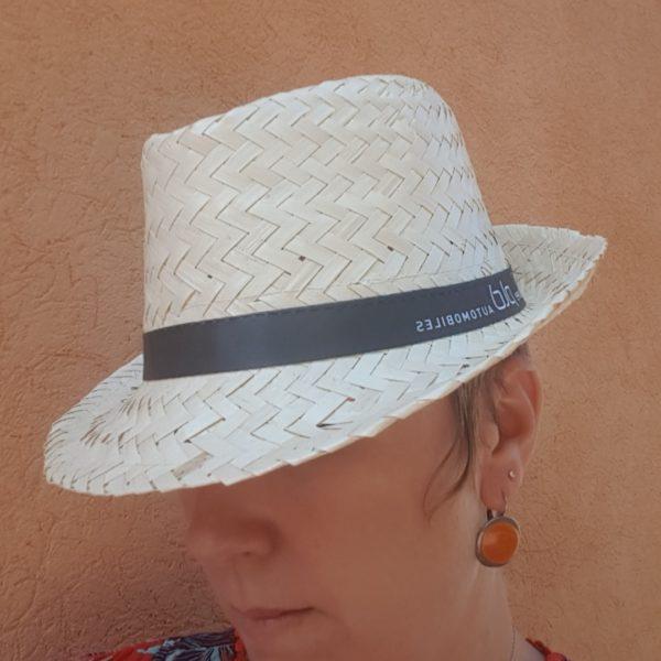chapeau soirée personnalisé